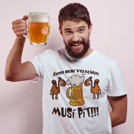 Tričko Pivo - Čech není velbloud