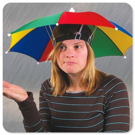 Klobouk deštník & slunečník