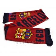 Šál Barcelona FC vínový