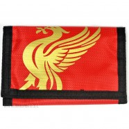 Peněženka Liverpool FC červená se zlatým znakem