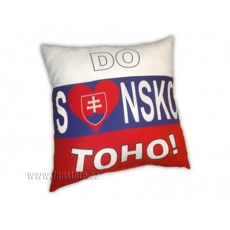 """Polštářek """"S-love-nsko do toho!"""""""
