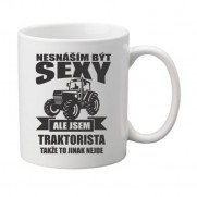 Hrnek Sexy traktorista