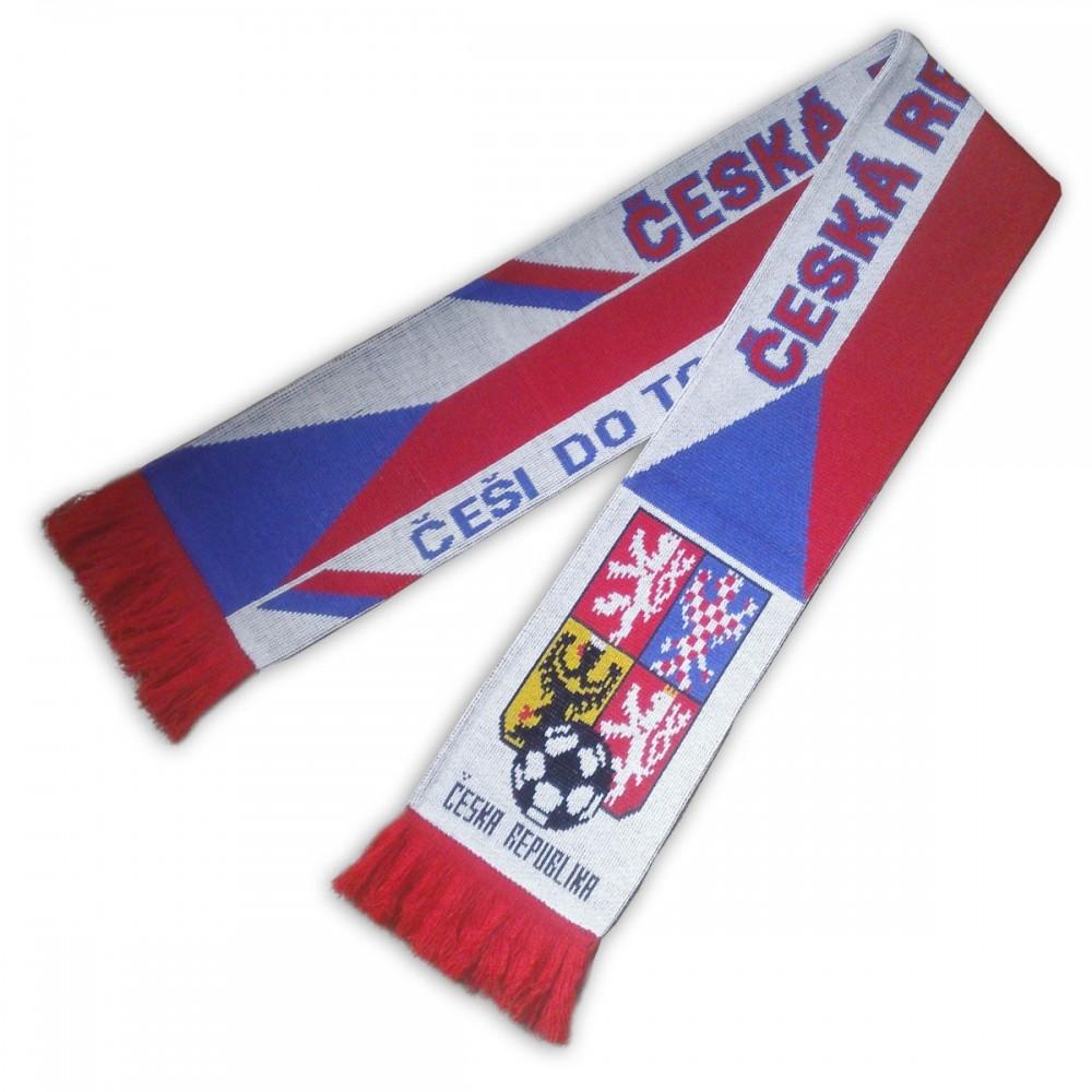 Šál Česká republika fotbalový