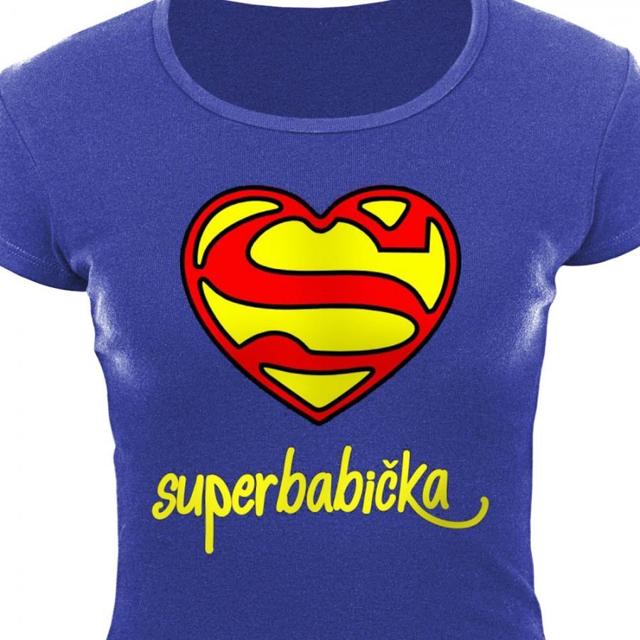 Tričko Super babička