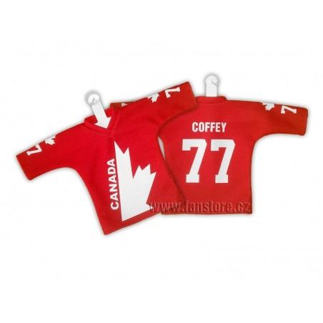 RETRO minidres Kanada červený- Kanadský pohár