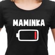 Tričko Maminka baterka