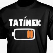 Tričko Tatínek baterka
