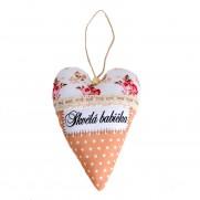 Levandulové srdce Skvělá babička