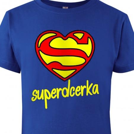 Tričko Super dcerka dětské