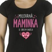 Tričko Milovaná maminka