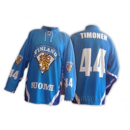 Repre dres Finsko hokej modrý