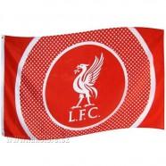 Vlajka Liverpool FC Bullseye