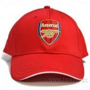 Kšiltovka Arsenal FC červená