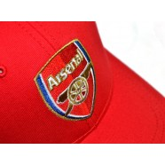 Kšiltovka Arsenal FC červená detail