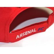 Kšiltovka Arsenal FC červená záď