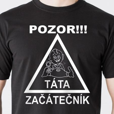 Tričko Táta začátečník