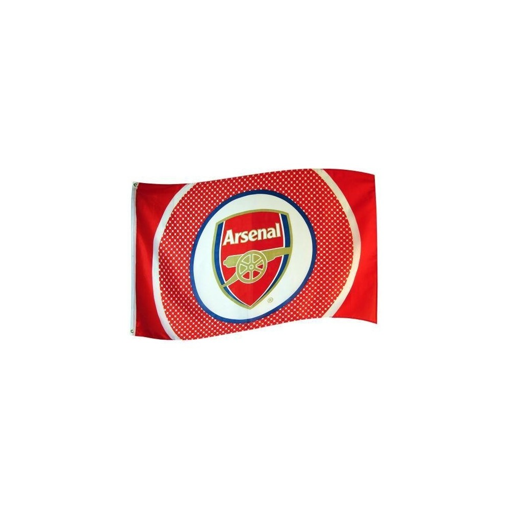 Vlajka Arsenal FC Bullseye