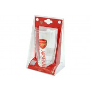 Pivní sklenice Arsenal FC v blistru