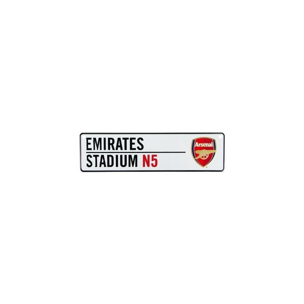 Plechová ceduľka Arsenal FC do okna