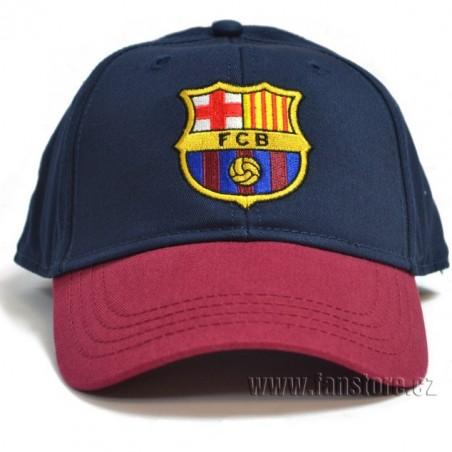 Kšiltovka Barcelona modro-vínová