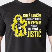 Tričko Elektrikář tanečník