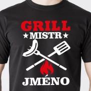 Tričko Grill Mistr - s vlastním jménem