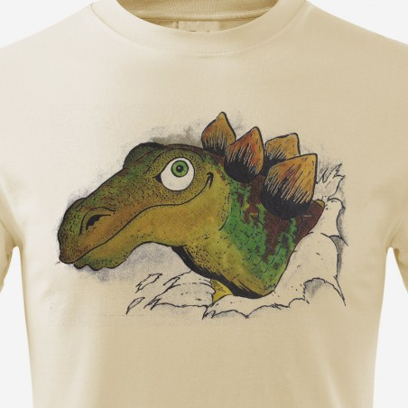 Tričko Dinosauři dětské - Stegosaurus