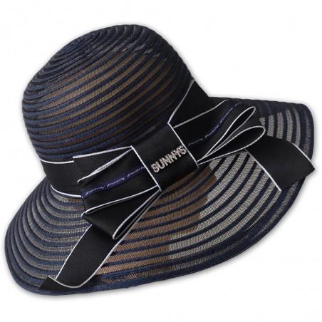 Dámský letní klobouk s mašlí